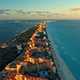 Aerial View of Cancun During Sunset - VideoHive Item for Sale
