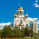 Temple in Yekaterinburg in the Spring - VideoHive Item for Sale