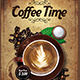 Coffee Time Flyer - GraphicRiver Item for Sale