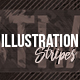 Illustration Stripes Photoshop Action - GraphicRiver Item for Sale