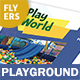 Kids' Playground Flyers – 4 Options - GraphicRiver Item for Sale