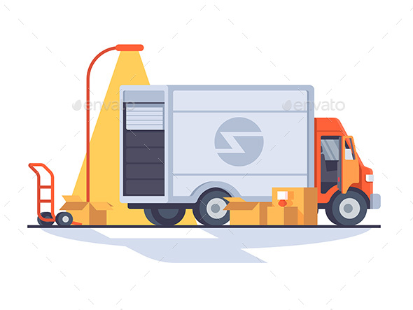 Fast Express Delivery - Miscellaneous Vectors