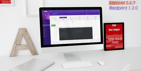 Redprint Laravel App Builder (CRUD Generator Plus) - CodeCanyon Item for Sale