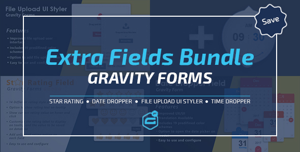 Gravity Forms Extra Fields Bundle - CodeCanyon Item for Sale