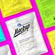 Plastic Cosmetics Bag 2 Mock-ups Files - GraphicRiver Item for Sale