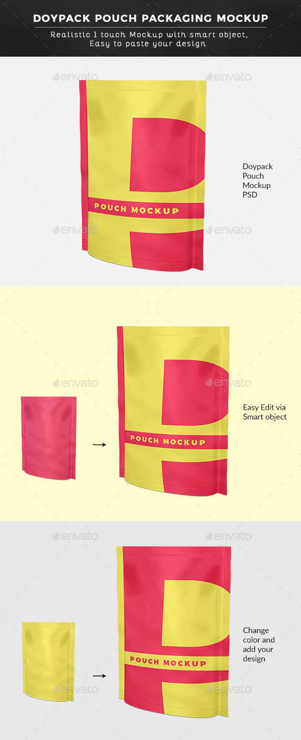 Pouch Mockup - Graphics