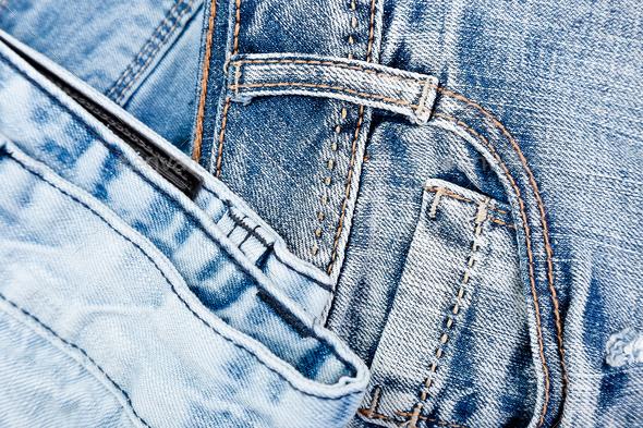 Jean background. Denim blue jean texture. - Stock Photo - Images