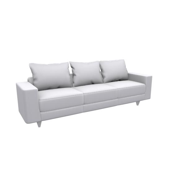 3 Seat Sofa - 3DOcean Item for Sale