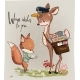 Fawn and Fox with Letter - GraphicRiver Item for Sale