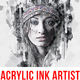 Acrylic - Ink Artist Photoshop Action - GraphicRiver Item for Sale