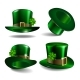 St Patricks Day Hats. Vector - GraphicRiver Item for Sale