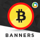 Crypto Currency Banner Set - GraphicRiver Item for Sale
