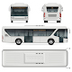 City Bus Vector Template