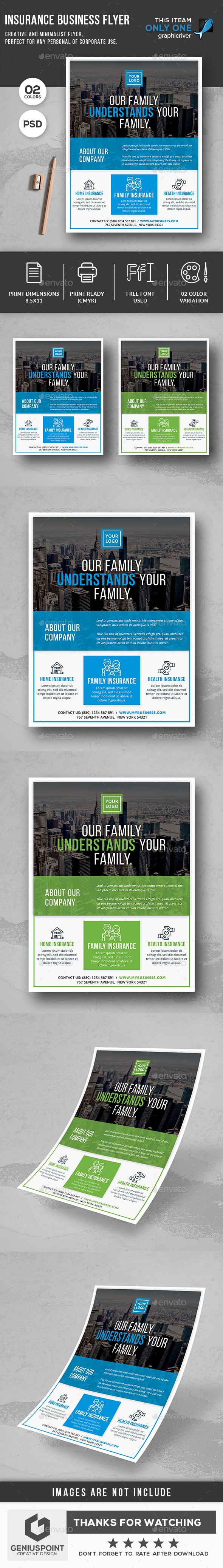 Insurance Business Flyer - Corporate Flyers