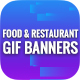 Animated GIF Banner Ads - Food & Restaurant Banners Ad - GraphicRiver Item for Sale