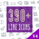 Line Icons Pack 390 Animated Icons - VideoHive Item for Sale