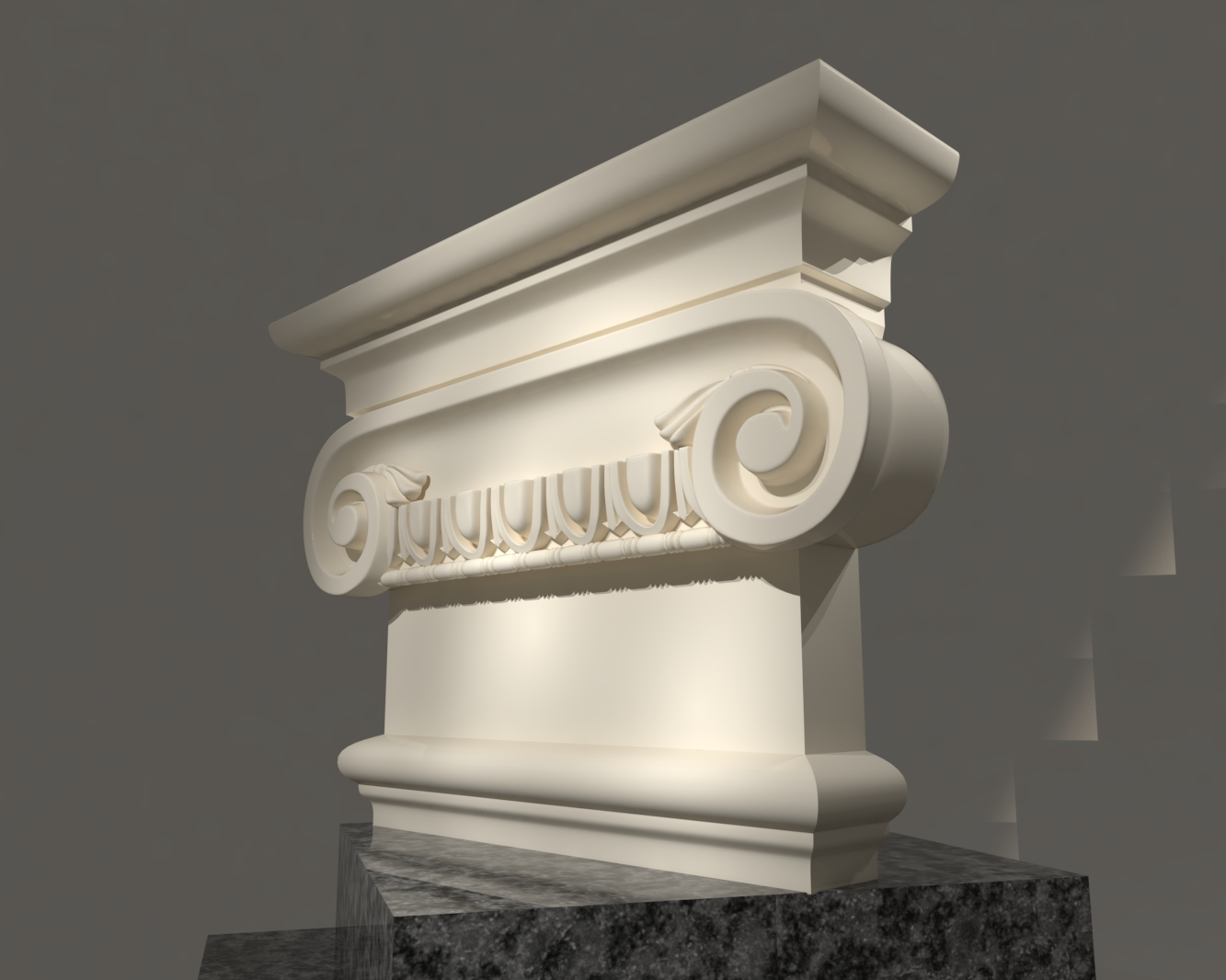Grecian Classic 3D Model For Sketchup Pack 2