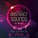 Abstract  Sounds Party Flyer - GraphicRiver Item for Sale