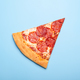 Slice of Delicious Pizza Pepperoni - PhotoDune Item for Sale