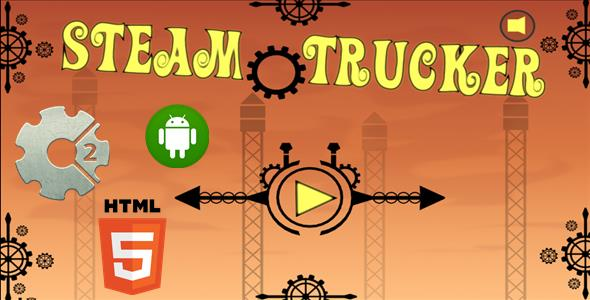 Steam Trucker - HTML5 Mobile Game (Capx) - CodeCanyon Item for Sale