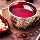 Tea with pomegranate - PhotoDune Item for Sale