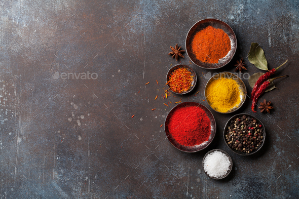 Colorful spices - Stock Photo - Images