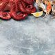 Seafood. Octopus, oysters, lobster, shrimps - PhotoDune Item for Sale