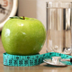 Food for Healthy. Apple, Water and Stethoscope - VideoHive Item for Sale