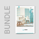 Interios – Interior Design Brochures Bundle Print Templates 3 in 1 - GraphicRiver Item for Sale