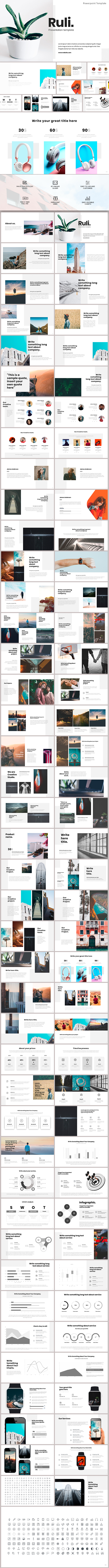 Ruli Powerpoint Template - PowerPoint Templates Presentation Templates