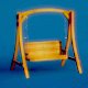 Wooden Swing - 3DOcean Item for Sale