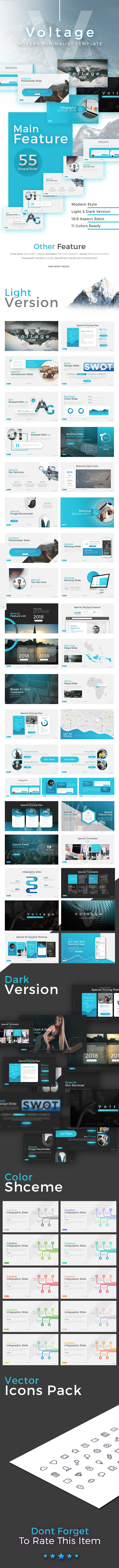 Voltage - Business Presentation - Business PowerPoint Templates