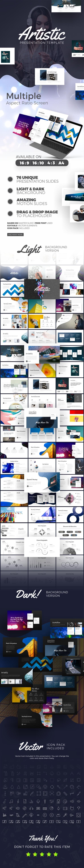 Artistic Presentation Template - Business PowerPoint Templates