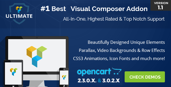 Ultimate Addons for OpenCart Visual Composer
