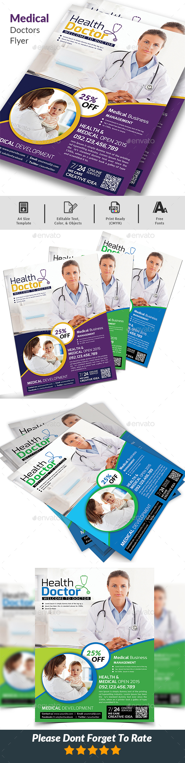 Doctors Flyer - Corporate Flyers