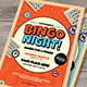 Bingo Night Event Flyer - GraphicRiver Item for Sale