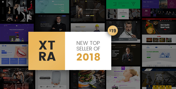 Xtra - Responsive Multipurpose WordPress Theme - Business Corporate