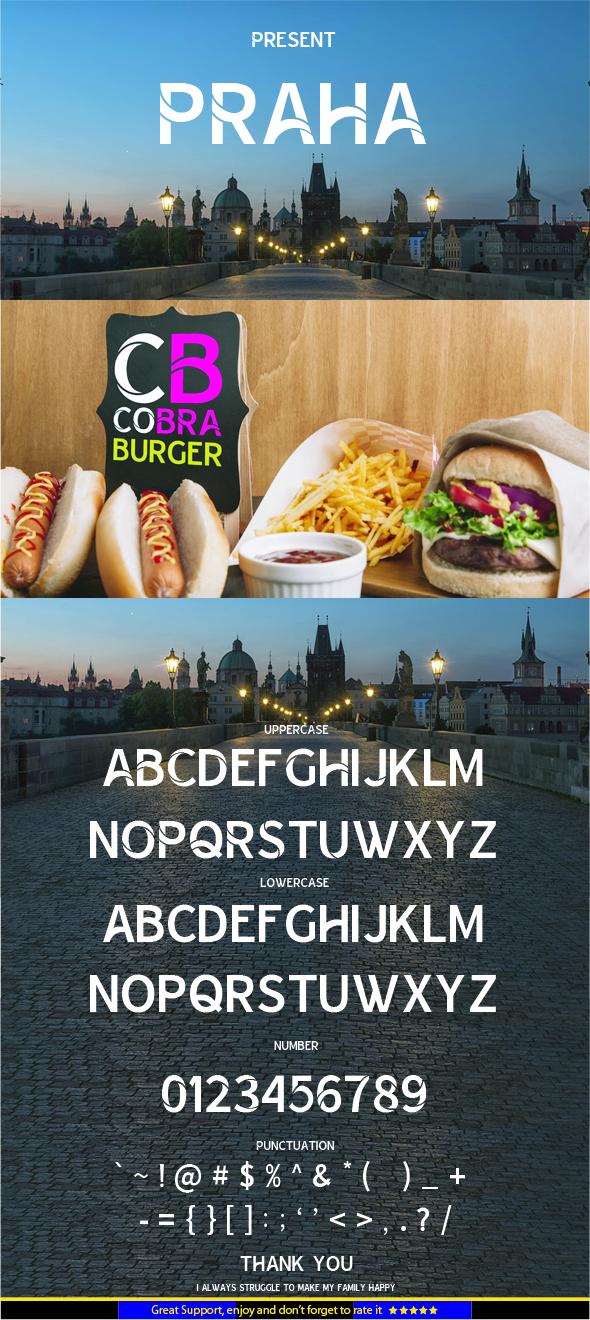 PRAHA - Sans-Serif Fonts