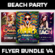 Beach Party Flyer Bundle V4 - GraphicRiver Item for Sale