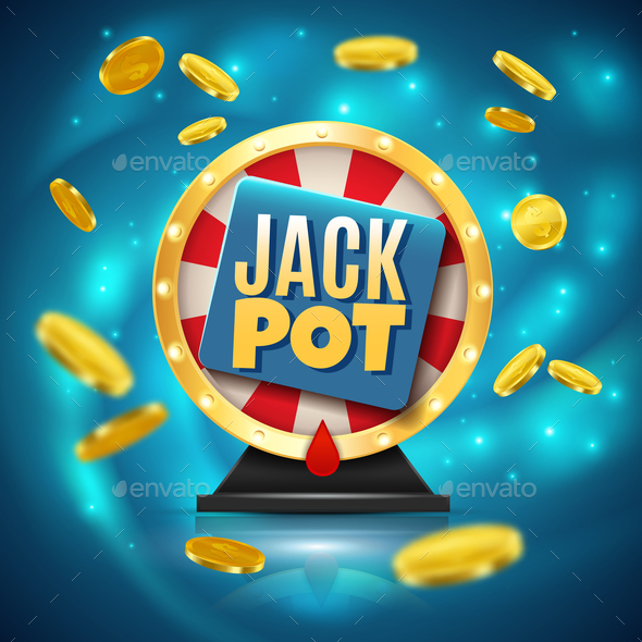 Jackpot Realistic Background - Backgrounds Decorative