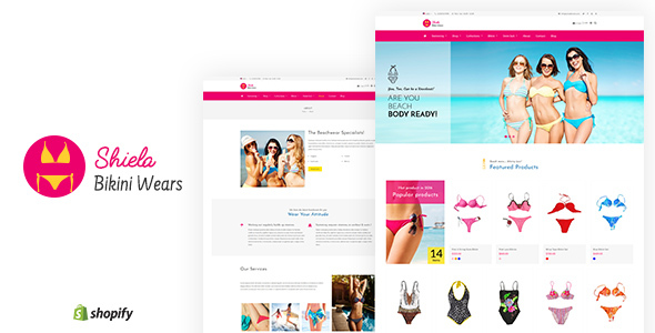 Image of Sheila - Bikini Shopify Theme