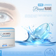 Contact Lenses Realistic Ad Poster