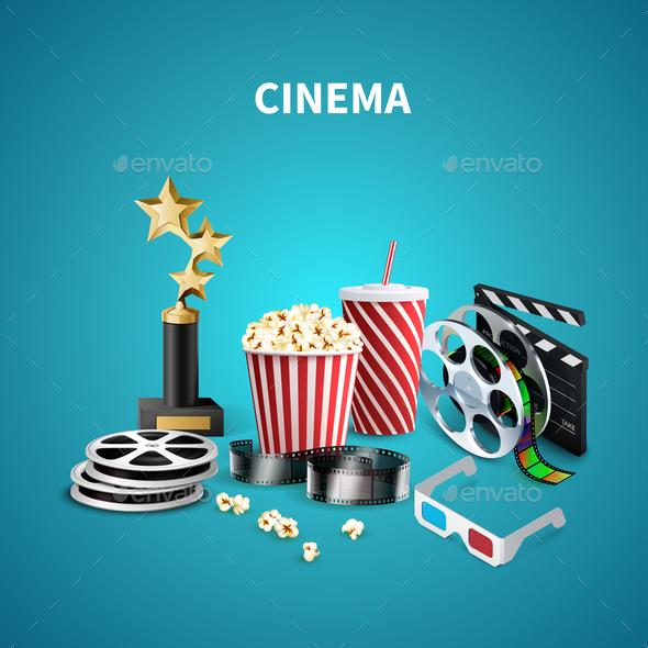 Cinema Realistic Background - Miscellaneous Vectors