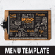 Brunch Food Menu - GraphicRiver Item for Sale