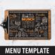 Brunch Food Menu - GraphicRiver Item for Sale