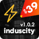 Induscity - Factory, Industry, Construction and Manufacturing Business WordPress Theme - ThemeForest Item for Sale