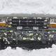 Vehicle trapped under the snow. Cold winter time. Horizontal - PhotoDune Item for Sale