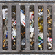 Sewer full of garbage. Urban pollution. Waste treatment. Clean cities - PhotoDune Item for Sale