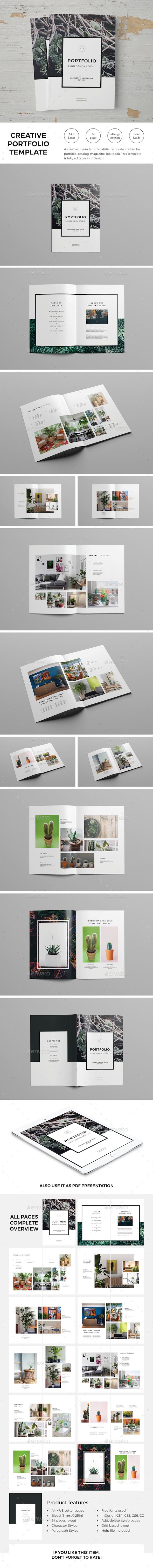 Creative Portfolio Template - Portfolio Brochures