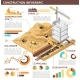 Building Construction Isometric Vector - GraphicRiver Item for Sale